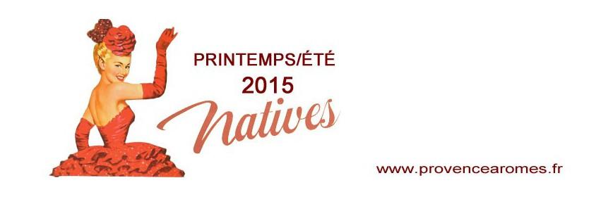 Été 2015 Natives déco rétro vintage