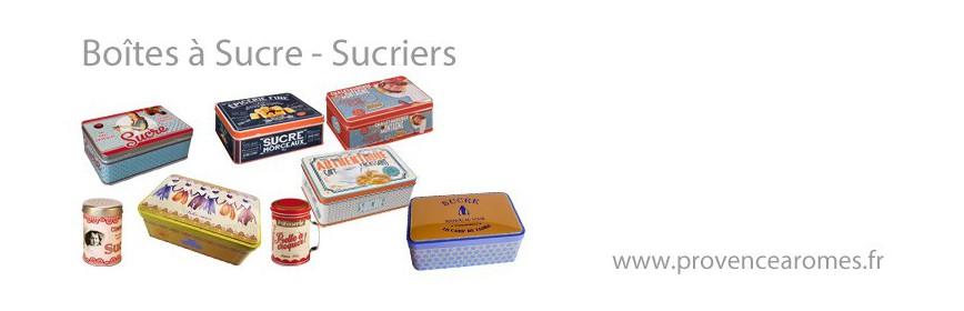 Boîtes à sucre - Sucriers