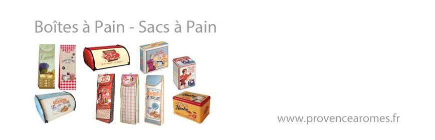 Boîtes à pain - Sacs à pain