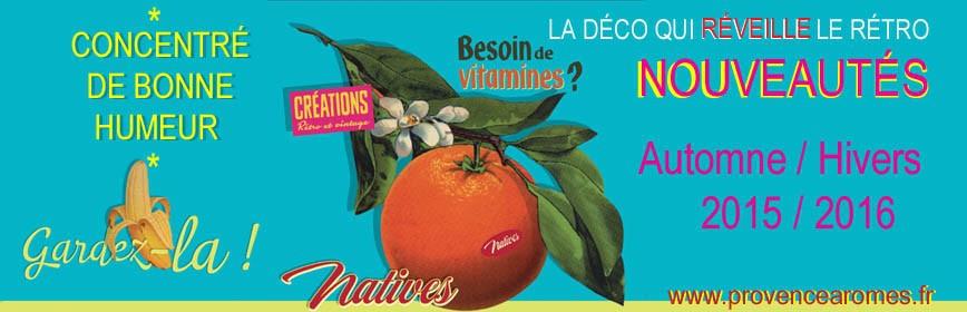 HIVERS 2015 / 2016 Natives déco rétro vintage nouveautés