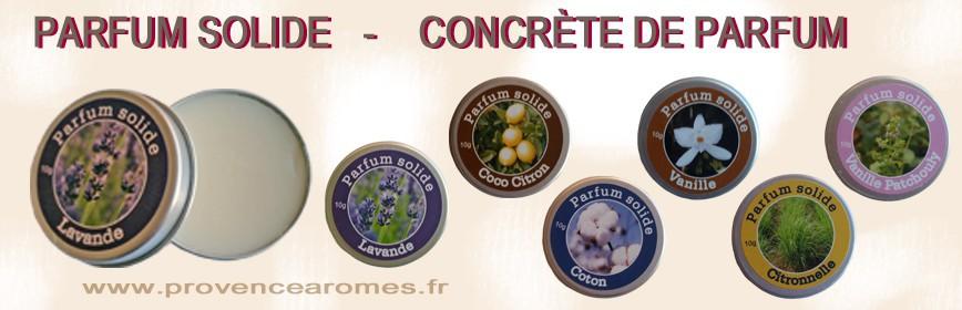 Sud Provence Concrète De Arômes Tendance Solide Parfum Y29IEDHW
