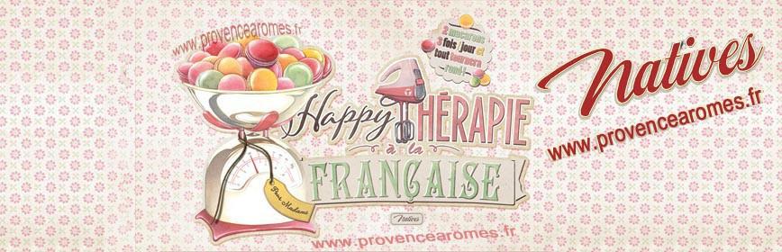 MACARONS HAPPY THÉRAPIE Française Natives déco rétro vintage