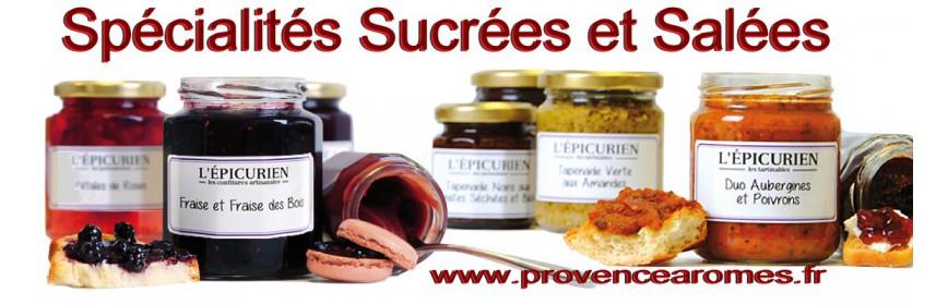 Spécialités artisanales sucrées et salées