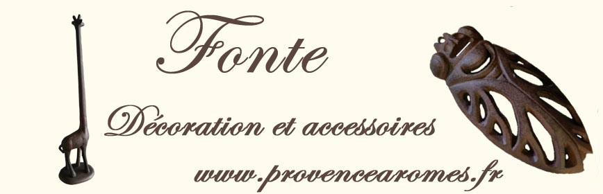 FONTE décoration et accessoires