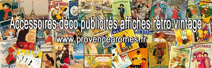 Déco Publicité et affiche rétro vintage