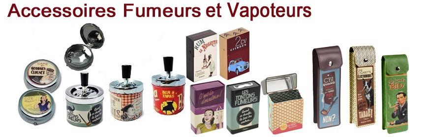 Accessoires pour fumeurs et vapoteurs
