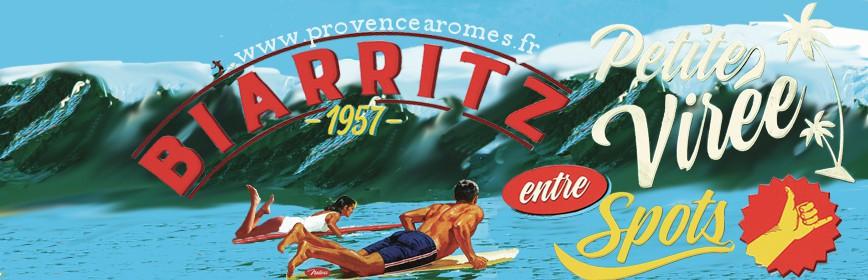 PETITE VIRÉE ENTRE SPOTS BIARRITZ SURF Natives déco rétro vintage