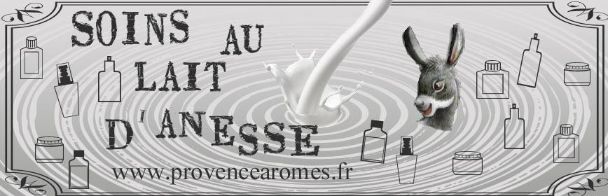 Soins au LAIT D'ÂNESSE BIO