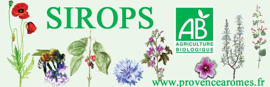 SIROPS Naturels et Bio aux plantes et propolis