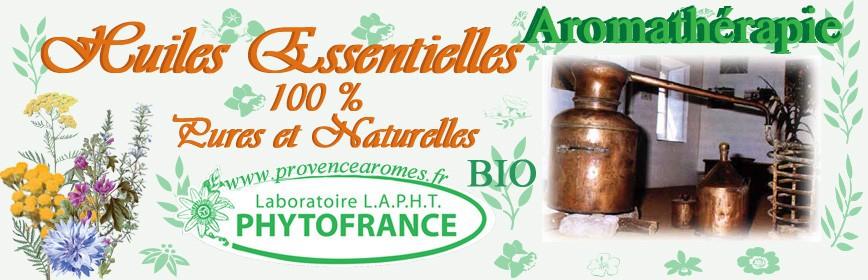 HUILES ESSENTIELLES 100% PURES NATURELLES et BIO