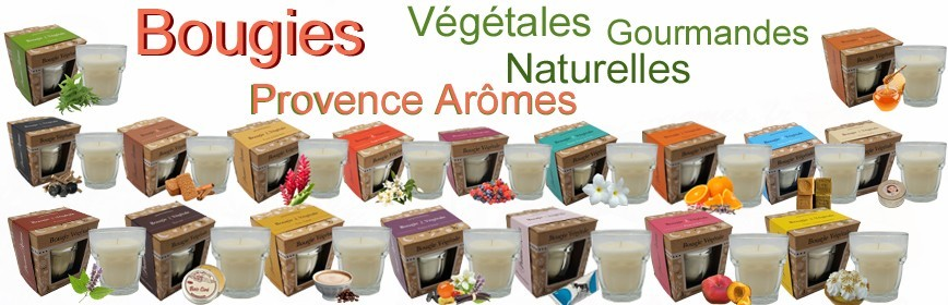 Bougies Gourmandes Provence Arômes