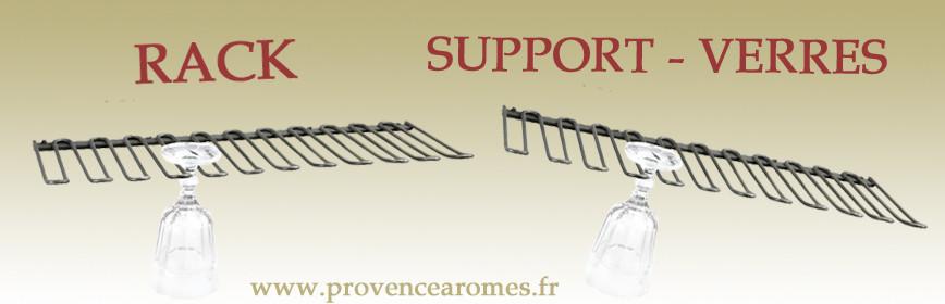 RACK SUPPORT-VERRES