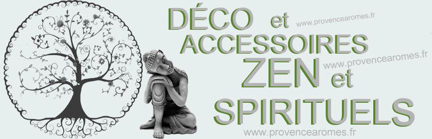 DÉCO et ACCESSOIRES ZEN et SPIRITUELS