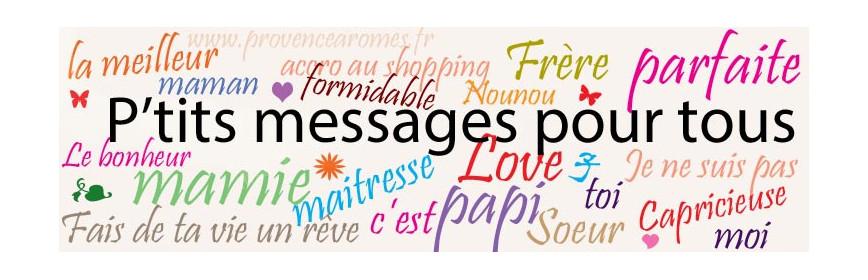 Accessoires déco Petits messages
