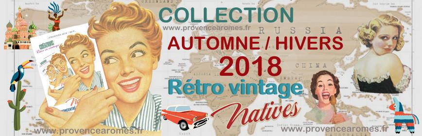 Nouveautés HIVERS 2018/2019 NATIVES déco rétro vintage
