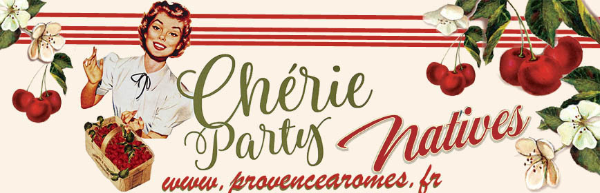 CHÉRIE PARTY Natives déco rétro vintage