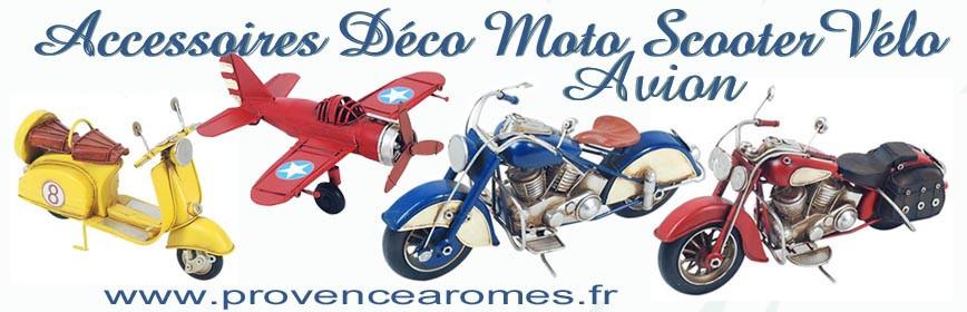 Déco Moto Scooter Vélo Avion