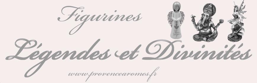 FIGURINES de LÉGENDES et DIVINITÉS
