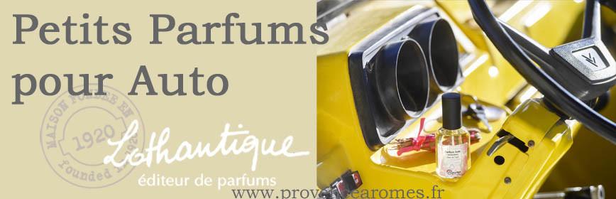Petits Parfums pour auto Lothantique