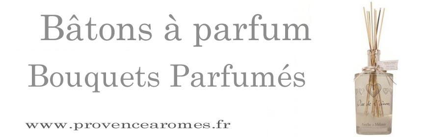 Bouquets parfumés, bâtons à Parfum